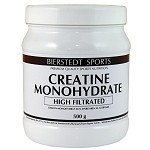 Creatin Monohydrat 500g Pulver High Filtrated 500g BIERSTEDT SPORTS